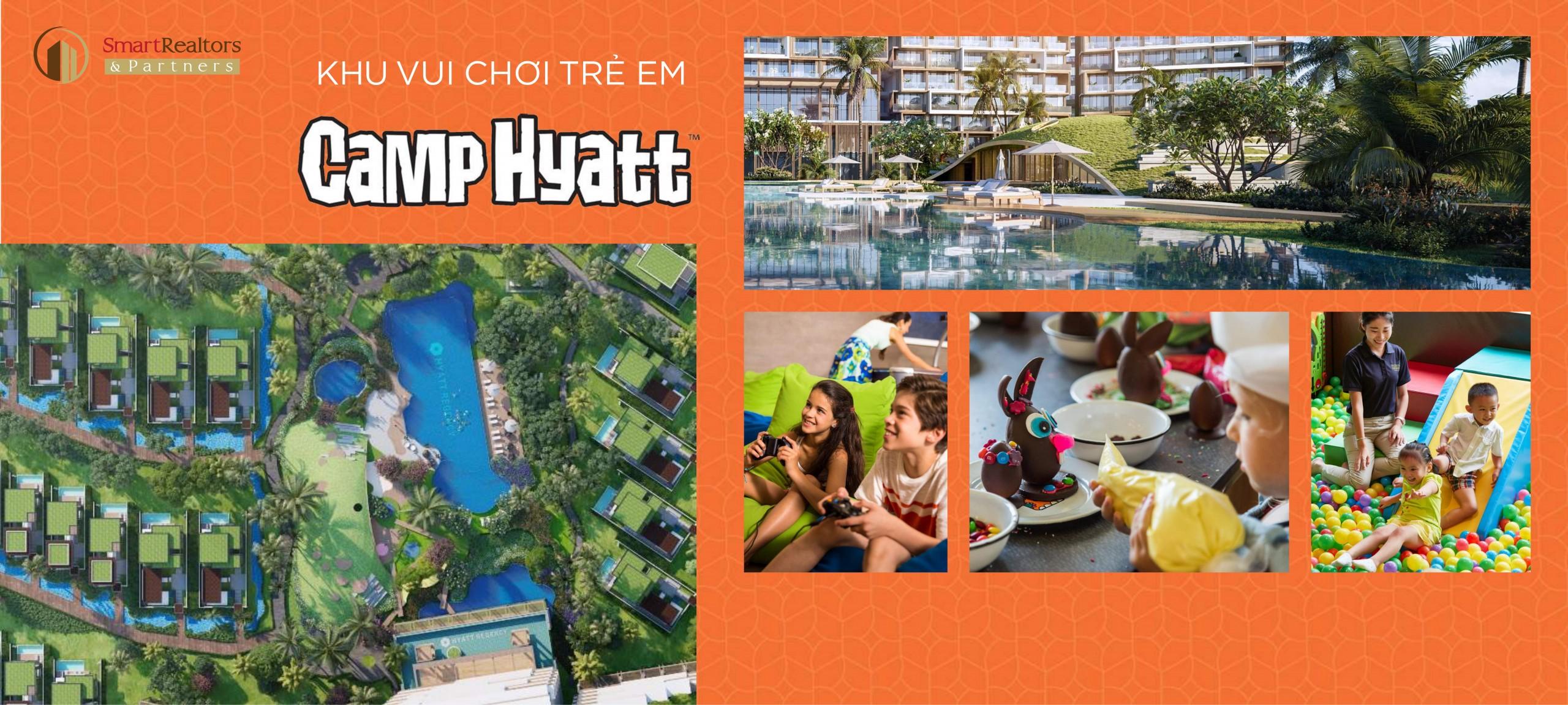 Ngoài ra, Hyatt Regency Ho Tram Residences còn có khu vui chơi dành riêng cho trẻ em