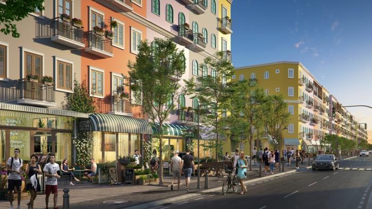 Màu sắc Địa Trung Hải rực rỡ tại Sun Grand City New An Thới Phú Quốc