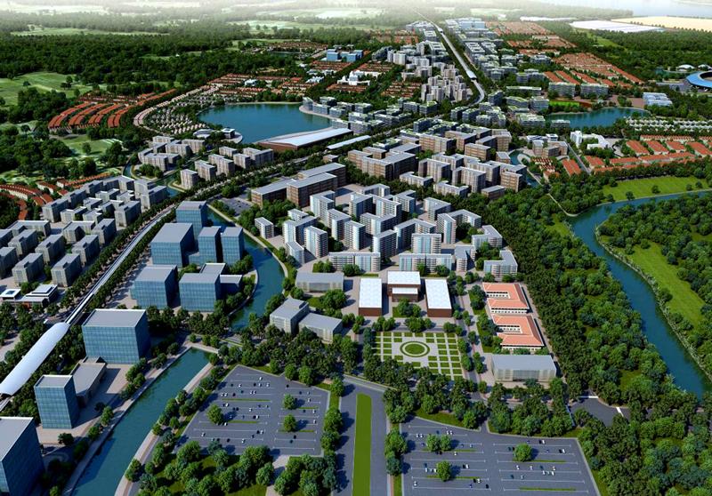 Khu đô thị cảng Hiệp Phước cần xác định được các khu vực dọc sông, kênh, rạch và các trục đường chính.
