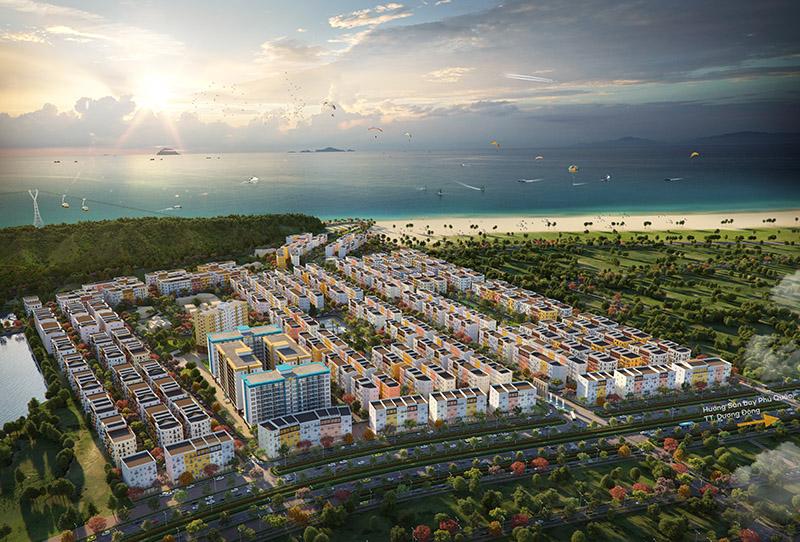 Phối cảnh Sun Grand City New An Thoi trong hệ thống Bất Động Sản Phú Quốc