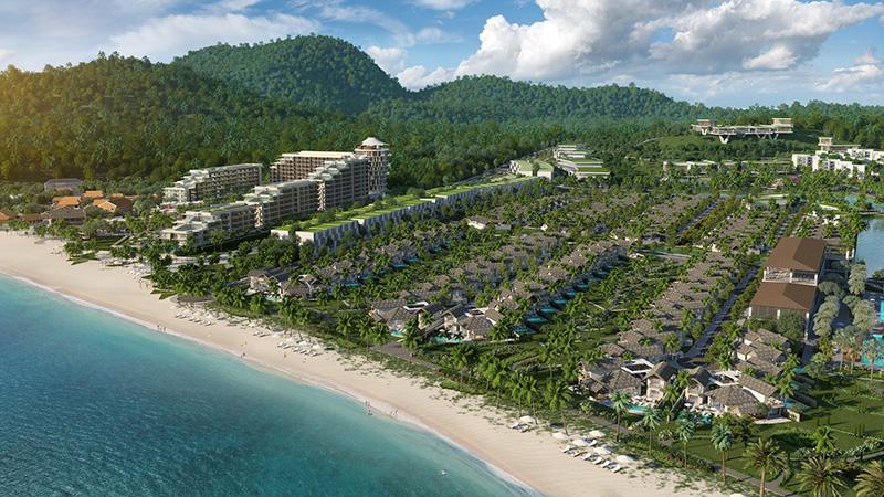 Phối cảnh Sun Premier Village Kem Beach Resort - Top 5 dự án tại Phú Quốc