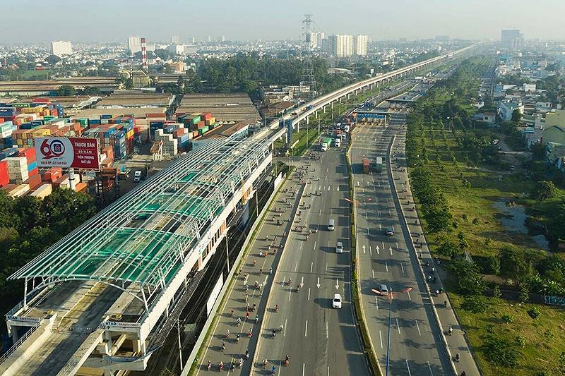 Tuyến metro số 3 - Giải pháp bền vững phát triển kinh tế, xã hội.