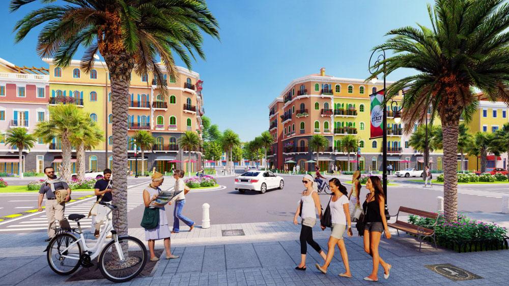 Nhà phố liền kề dự án Sun Grand City New An Thới Phú Quốc