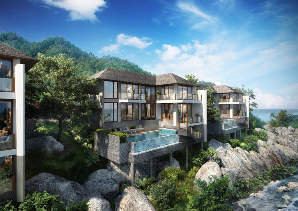 Hệ thống bể bơi tràn bờ view biển tạo nên nét độc đáo tại  Sun Premier Village The Eden Bay Phu Quoc