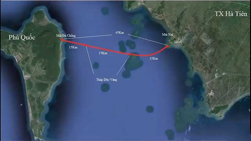 Cầu vượt biển Hà Tiên có cơ hội hiện hữu không?