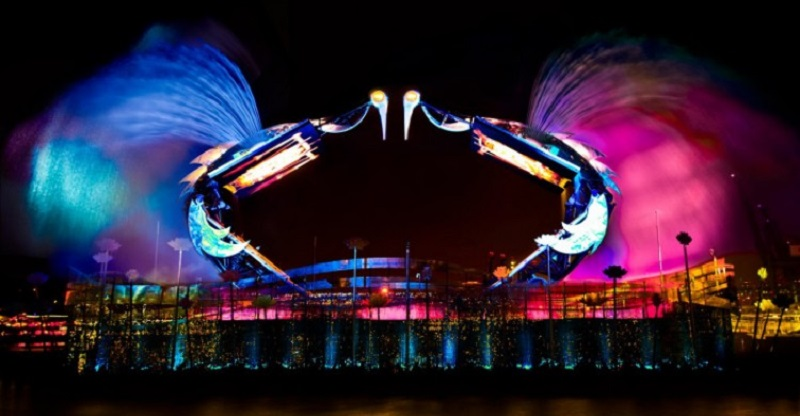 cong-nghe-trinh-dien-vortex-tai-Wings-of-the-time-sentosa-singapore