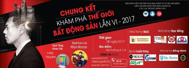 cong ty smartrealtors and partners nha tai tro chinh cho cuoc thi kham pha the gioi bat dong san cua truong dai hoc kinh te 6