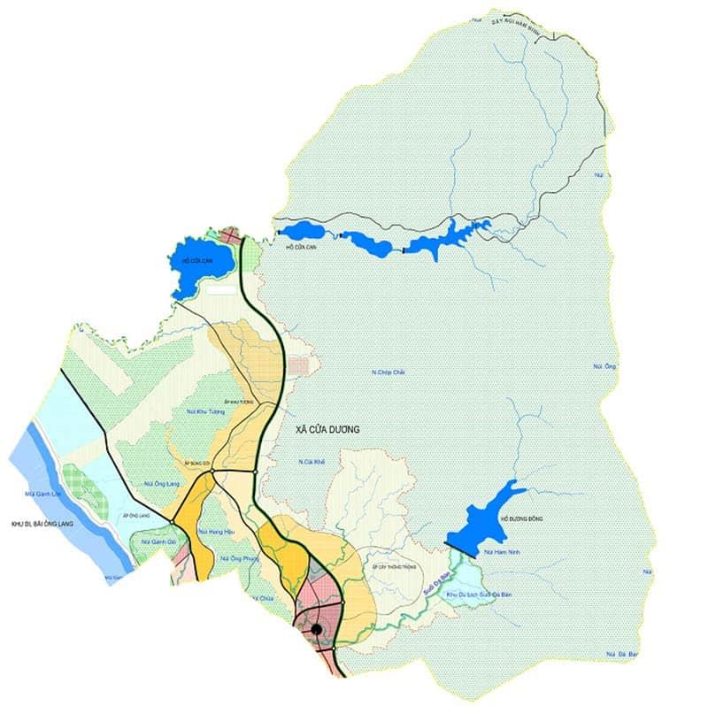 Địa phận xã Cửa Dương Phú Quốc
