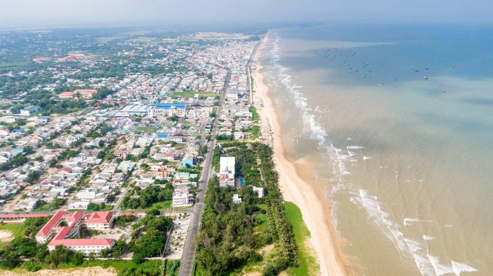 Đường ven biển Vũng Tàu - Bình Châu (Tỉnh lộ 994) cùng loạt dự án giao thông hạ tầng giúp bất động sản Hồ Tràm phát triển sôi động