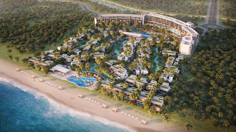 Furuma Resort Phú Quốc nằm an yên trên bãi biển dài 1,8km.