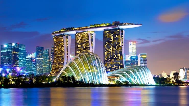 Marina Bay Sands của Singapore