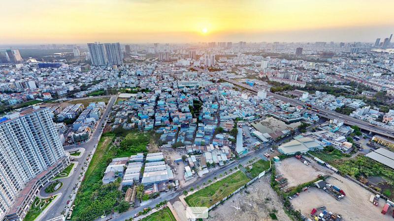Khu Nam Sài Gòn hiện nay đã phát triển vượt bậc so với 10 trở lại đây.