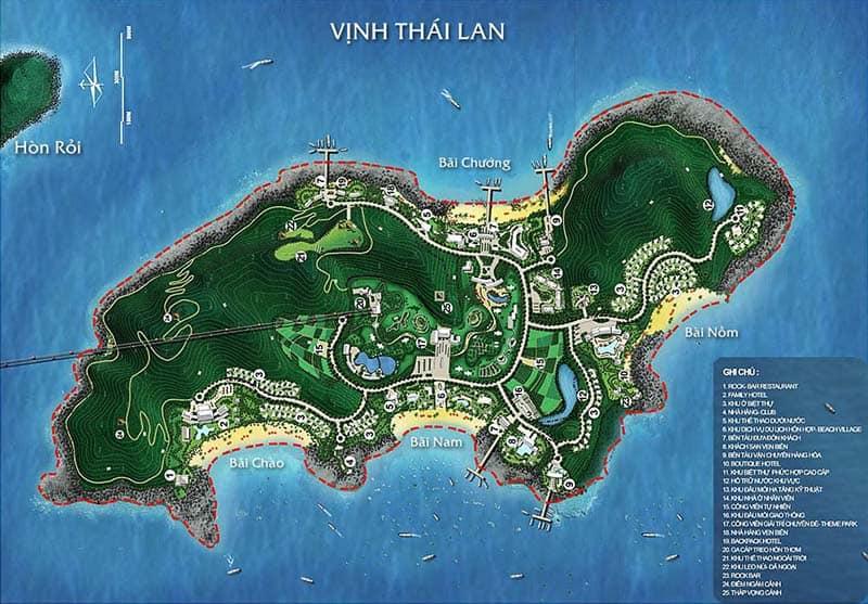 Quy hoạch Hòn Thơm và Khu vui chơi Hòn Thơm Sun World Phú Quốc