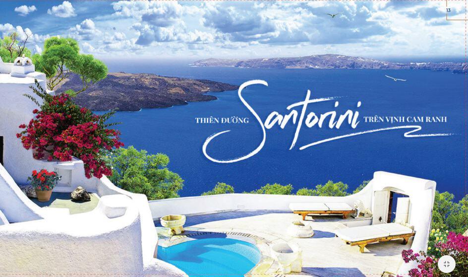 Santorini ngay tại Cam Ranh Bay Hotel & Resort.