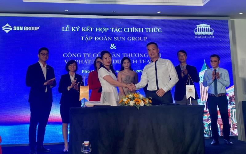 Teatro và RoseWood Group ký kết hợp tác vận hành dự án của Sun Group Nam Phú Quốc