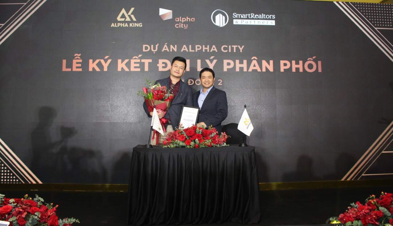 Lễ ký kết hợp tác phân phối dự án Alpha Hill giữa Alpha King và Smartrealtors & Partners