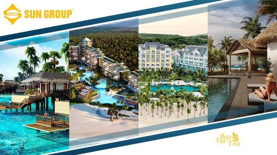 Các dự án của Tập đoàn Sun Group tại địa bàn Nam đảo Phú Quốc