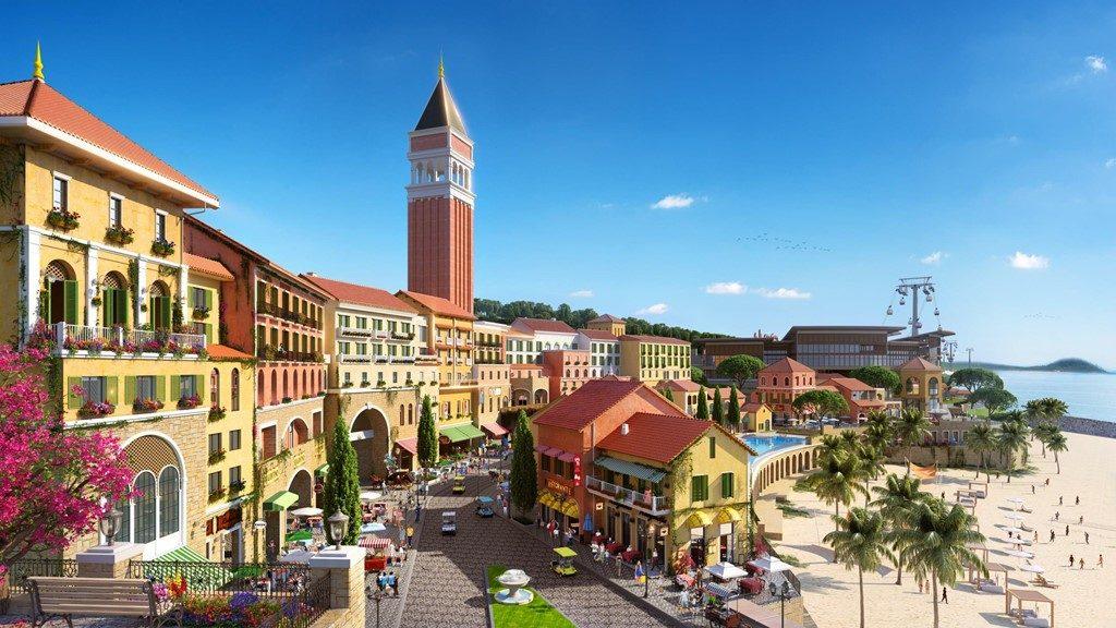Tháp Chuông Central Village Phú Quốc -Venice về Đảo Ngọc