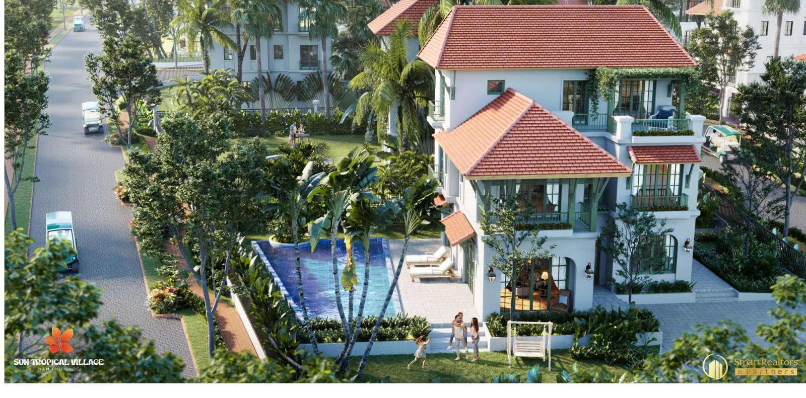 Tìm hiểu CĐT Sun Group và biệt thự Sun Tropical Village