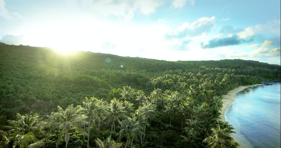 Phong cách nhiệt đới ở những vùng biển đảo ngập tràn nắng gió.