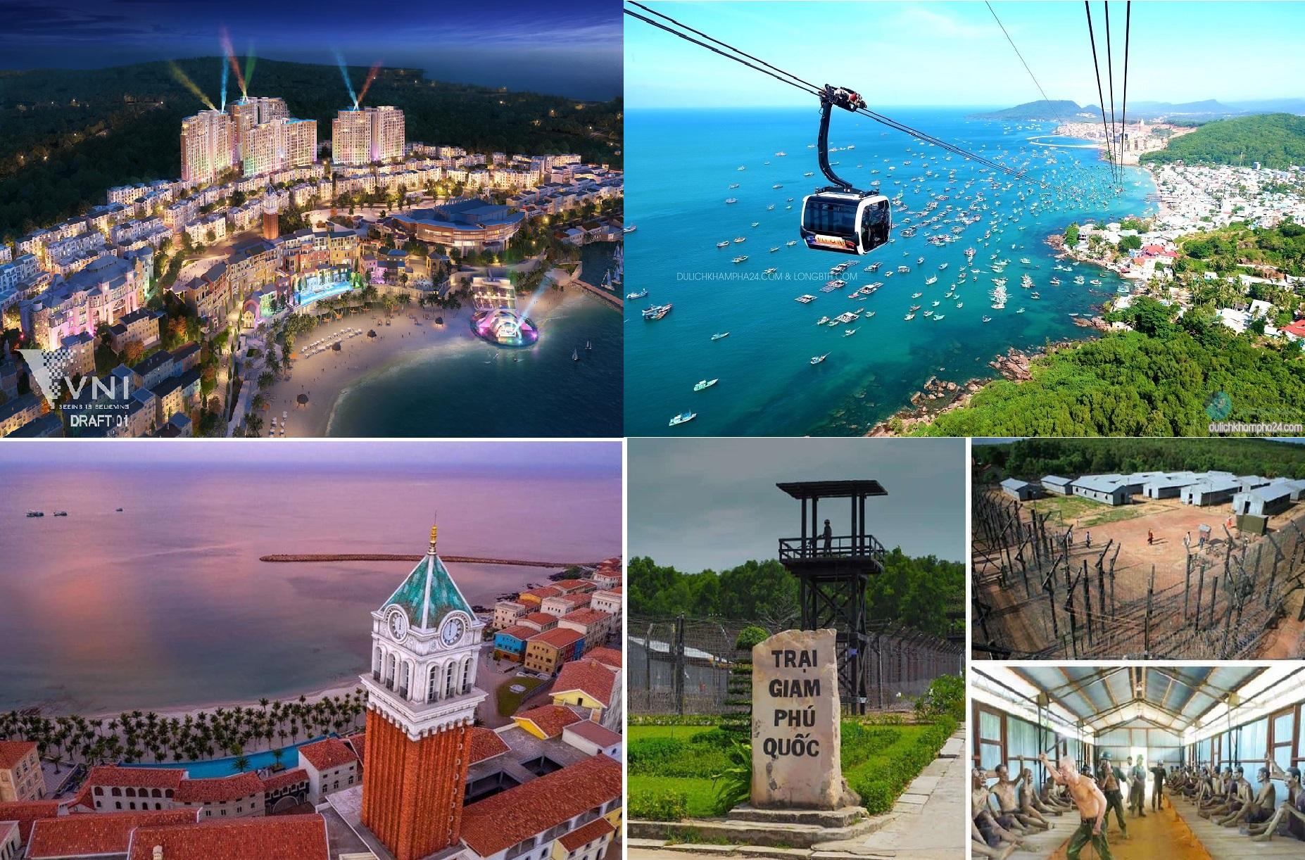 Dự án Sun Tropical Village bãi Kem liền kề các tiện ích ngoại khu nổi bật của Nam Phú Quốc