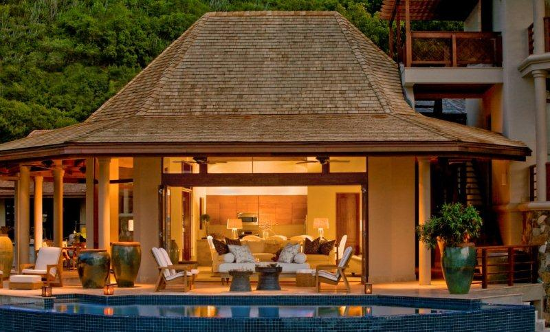 Biệt thự Luxury Tropical Style Aquamare, Virgin Gorda, British Virgin Islands