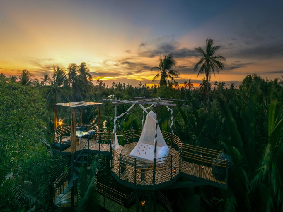 Bangkok Tree House va hoang hon mong mo
