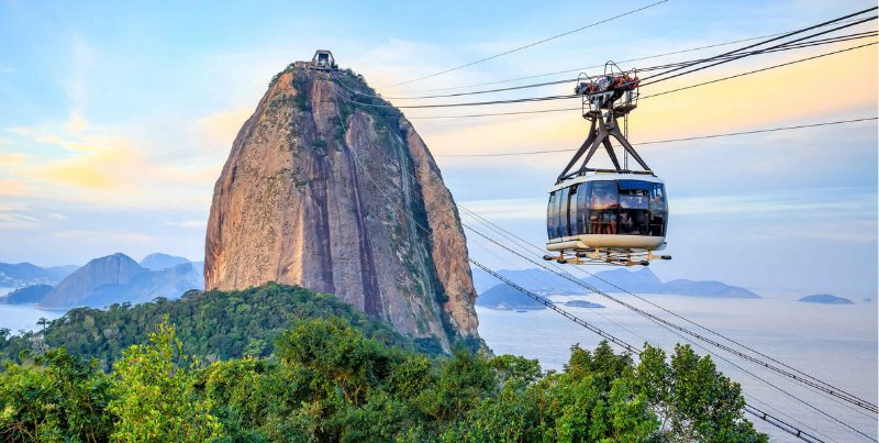 Cáp treo Sugarloaf Mountain Bondinho