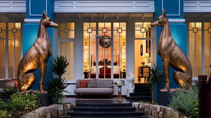 Kiến trúc Pháp trong JW Marriott Phu Quoc Emerald Bay tại Đảo Ngọc Phú Quốc