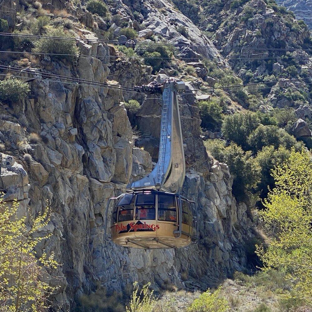 Palm Springs Aerial Tramway cap treo