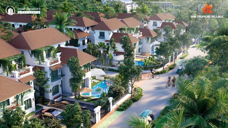 """Sun Tropical Village - """"mảnh ghép"""" hoàn thiện quần thể tỷ đô Bãi Kem."""