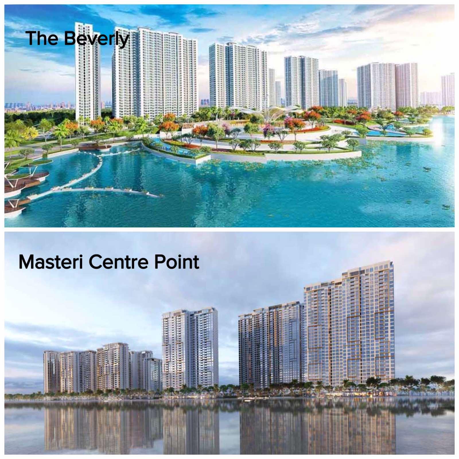 So sánh căn hộ The Beverly với Masteri Centre Point